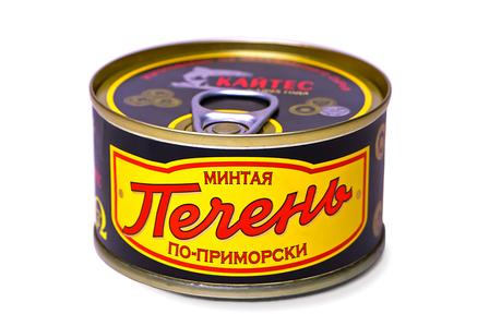 Печень минтая «По-приморски» (120 г)