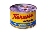 """Печень минтая """"По-приморски"""" (210 г)"""