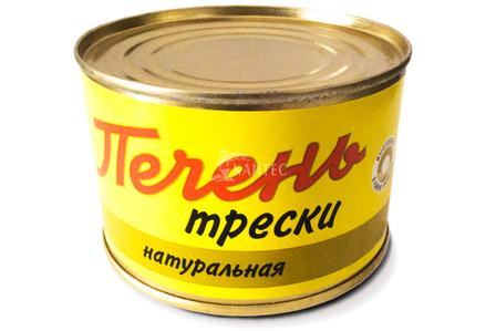 Печень трески натуральная (240 г)